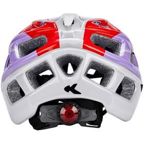 KED Kailu Helmet Kids Purple Red Stars